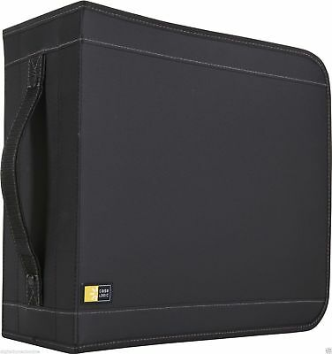 Case Logic CDW-320BLACK Nylon CD Wallet (320 Disc)