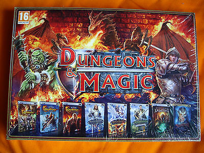 Dungeons & Magic - Pack Pc - 8 Juegos - RPG ROL - Edicion Limitada  España