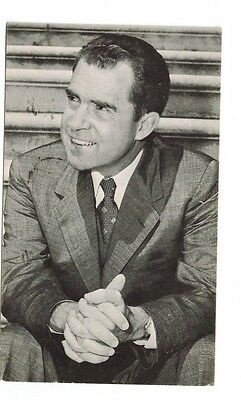 I'm For Dick Nixon..How About You? 1960 Nixon-Lodge Campaign postcard