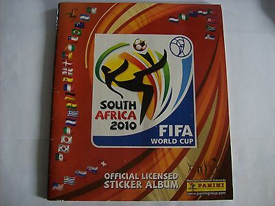 PANINI - AFRICA  2010 - SET COMPLET les 640 stickers + album vide neuf