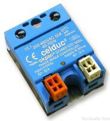 Celduc,so445420,relay, Solid State, Pa, 50A/230V
