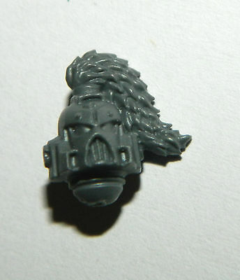 Warhammer 40K Bits, Space Wolves Helmeted Head