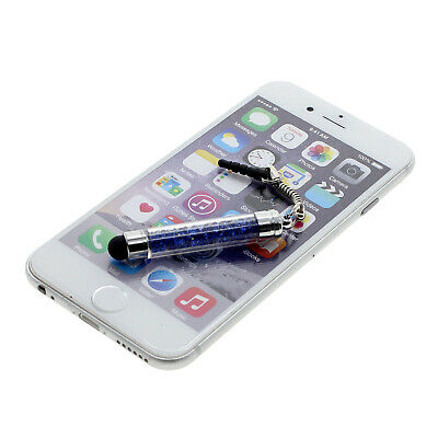 Universal Crystal Rhinestone Touch Screen Stylus Pen for iPhone Samsung Tablets