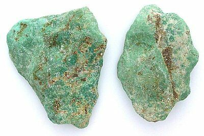 41 Grams TWO Slab Blue Green Sonoran Stabilized Turquoise Cab Cabochon Rough
