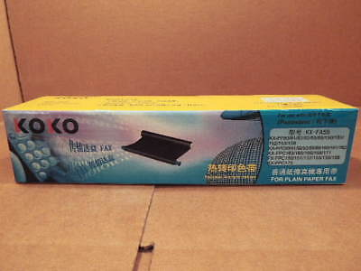 KOKO Replacement Ink Film (Model KX-FA55) for Panasonic Fax Machine...Two Rolls