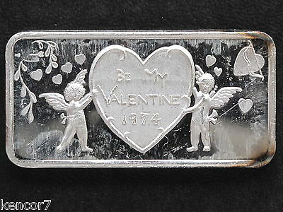 1974 Valentine Silver Art Bar GLM-11 Great Lakes Mint P1084