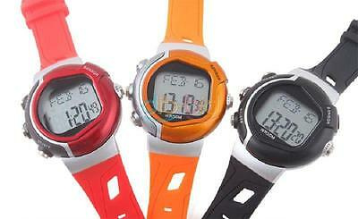 Fashion Woman Man Digtal Pulse Heart Rate Counter Calories Monitor Sport Watch