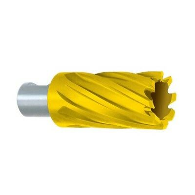 "Annular Cutters - Depth of Cut : 2""   Tool Material: HSS TiN   Size : 5/8"""