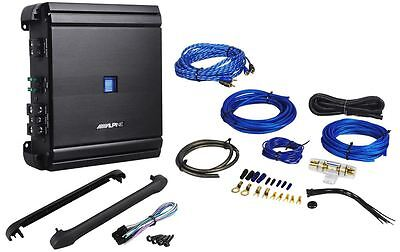 "Alpine MRV-M500 500 Watt RMS Class ""D"" Mono Car Amplifier + Amp Kit"