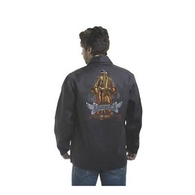 9061 - SIZE L Backbone of America Fire Resistant Welding Jacket