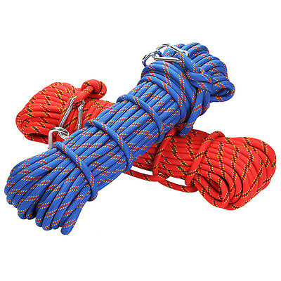 3KN 10mm Core Nylon Outdoor Rock Climbing Caving Fast Rope Safe Line Rescue Wire