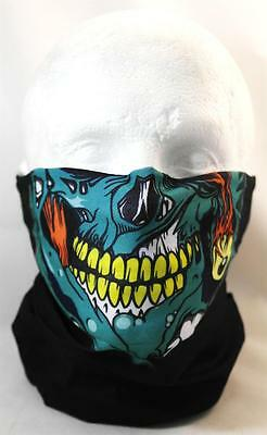 Multifunction head wrap neck tube scarf mask hat ZOMBIE WALKING DEAD airsoft