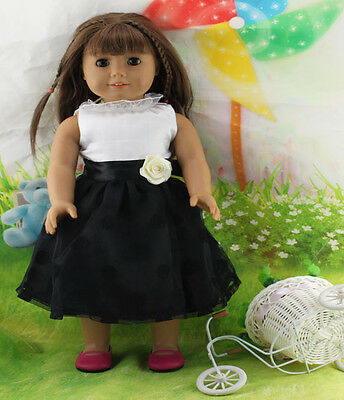 /Hotsell Handmade lovely dress clothes for 18 inch American Girl Doll b81
