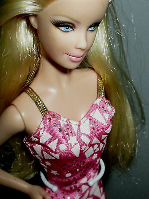 model muse barbie nude for ooak mackie face heavy make-up deboxed EXCELLENT!!!