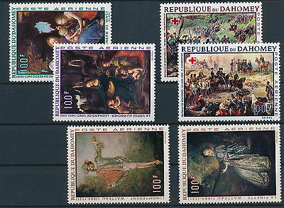 [37252] Dahomey good very fine MNH lot of stamps