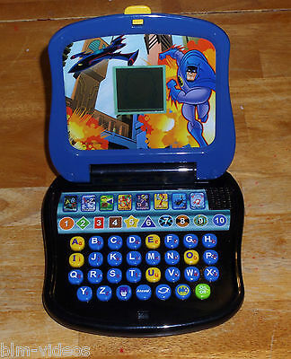Batman The Brave and the Bold Learning Toy Computer Mini-Laptop - Item BJ31-10