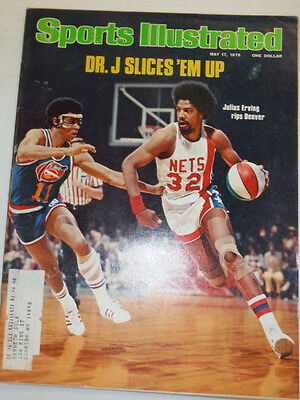 Sports Illustrated Magazine Doctor Julius Erving May 1976 121914R