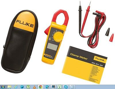 NEW Fluke 323 True-RMS Clamp Meter Digital  IEC Safety Standard Free Shipping