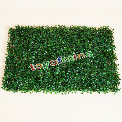 1pcs Artificial Grass Rug Turf Synthetic Foliage Flower Plant Home Garden Decor