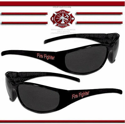 Fire Fighter Sunglasses  Fireman Firefighter Medical Emergency Rescue Free Ship*