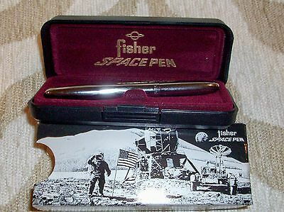 Fisher Space Pen #400 / Classic Chrome Bullet Pen NOS New Old Stock