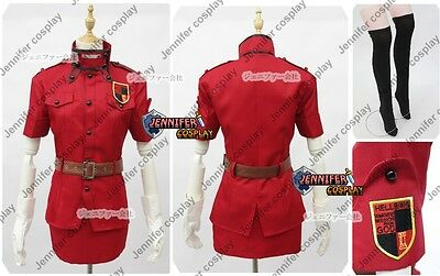 Hellsing Ultimate Victoria Seras Cosplay Costume Ver.Red