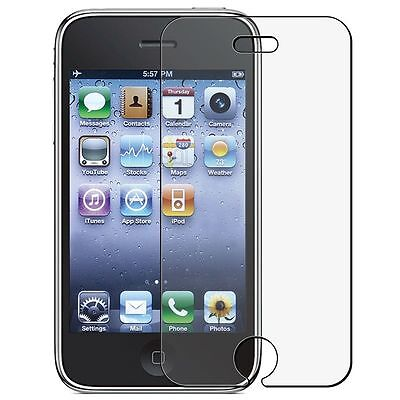 ANTI-GLARE Clear LCD Screen Protector for iPhone 3G 3GS New