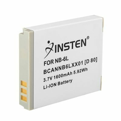 NB-6L Rechargeable Battery for Canon Digital ELPH SD1200 SD1300 IS Lithium-ion