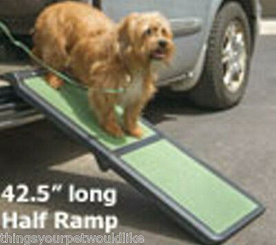 New Folding Pet Ramp Easy to Use Non-Skid Portable Weighs only 8 Pounds 31463