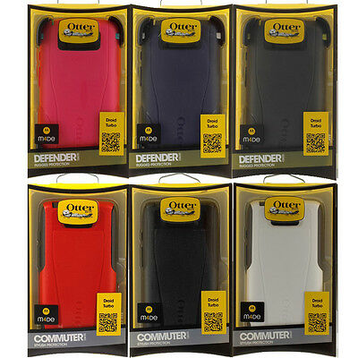 For Motorola Droid Turbo Otterbox Defender / Commuter Series Case Cover Verizon