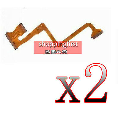 OP1 2Pcs LCD Flex Cable Replacement For JVC GZ-MS120 AC MS123 MS130 HM200 Repair