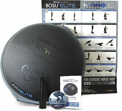 BOSU Elite by WeckMethod Balance Exercise Trainer Ball Power Zone & Power Line