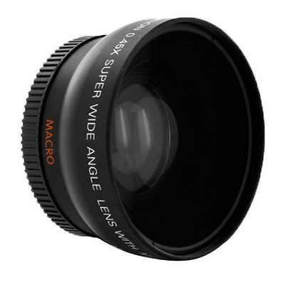 72mm 0.45X Wide Angle Lens with Macro For Canon Nikon Pentax Sony DSLR Camera