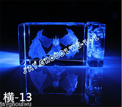 Free Lettering New LOL League of Legends Anivia 3D Crystal Figure Lights