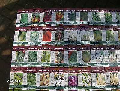 VEGETABLE,KINGS PACKETS 99P,plus ,PICK,TURNIP,LETTUCE,RED CABBAGE,TOMS