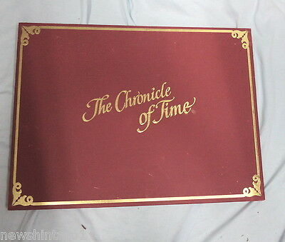 #dd.  Large Boxed Year 2000 Chronicle Of Time Calendar
