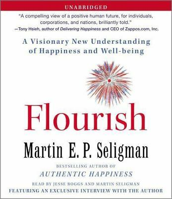 NEW 8 CD Flourish : A Visionary New Understanding of Happiness Martin Seligman