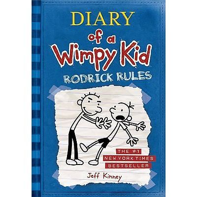 NEW Rodrick Rules by Jeff Kinney Hardcover Book (English) Free Shipping