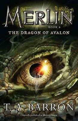 The Dragon of Avalon by T.A. Barron (English) Paperback Book Free Shipping!