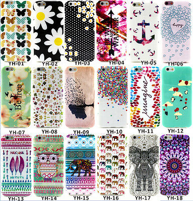 10pcs/lot Owl Flower Elephone Mixed TPU Soft Case For iPhone 6 4.7""