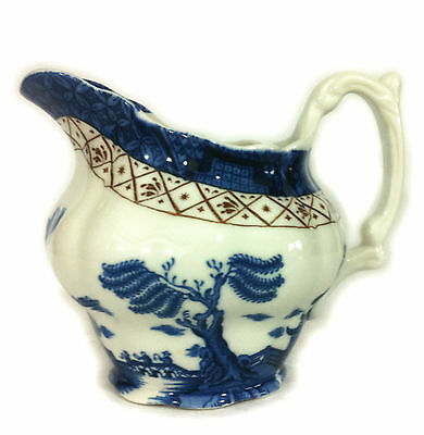 """VINTAGE BOOTHS REAL OLD WILLOW 5.5"""" CREAMER/MILK/CREAM JUG - SUPER QUALITY"""