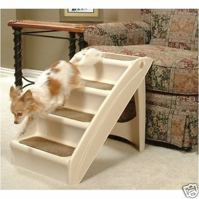 PUPSTEP Pet Dog Cat House Stairs Ramp Steps For Bed Sofa Chair Fast Ship NEW