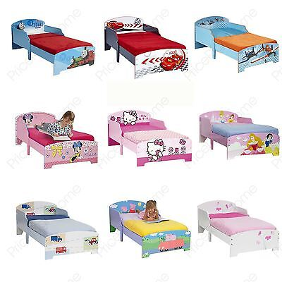 Kids Toddler Junior Character Beds – Mattress Option Available