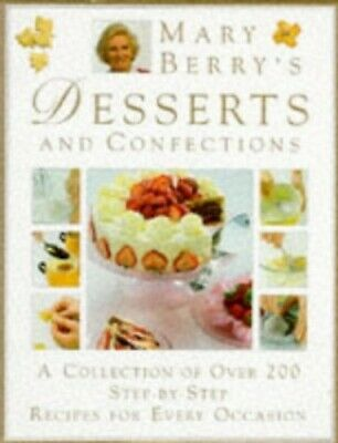 Desserts and Confections, Berry, Mary Hardback Book The Cheap Fast Free Post