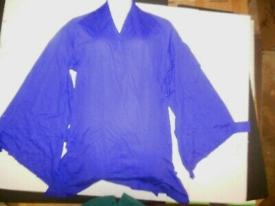 NWT Praise Dance Liturgical bell sleeve wrap top Plum Purple Ladies sizes 85070