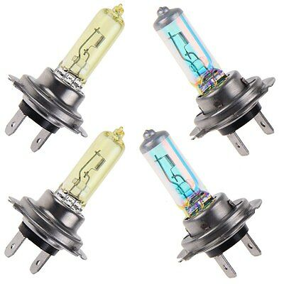 2x Car Super Bright H7 Xenon Halogen Front Headlight Light Bulbs Lamp 100W 12V