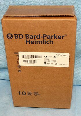 BD Bard-Parker 10 each Heimlich Chest Drain Valves 373460 NOS