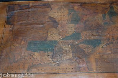 1831 School Map Of The United States - Huntington Hartford @west Territories@