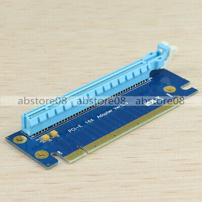 PCI-Express 16X Adapter Protector Riser Card Right-angle