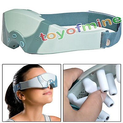 Hot Health Electric Magnetic Alleviate Fatigue Eye Care Relax Massager Forehead